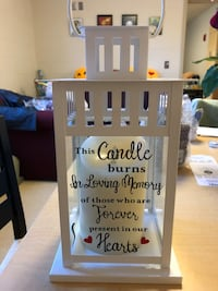 Memory lantern with led candle  Garden City, 11530