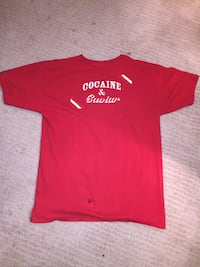 Crooks and castles red t-shirt