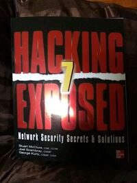 New  book. Hacking 7 exposed.  Live in sf San Francisco