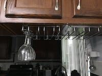 18 Wine glass including under cabinet rack  Columbia, 21044