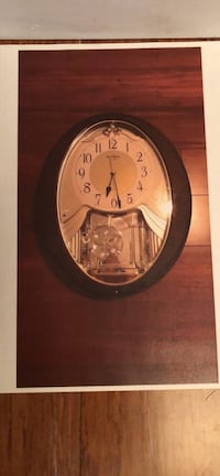 Brown analog wall clock Sunny Isles Beach, 33160