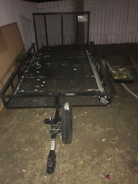 black and gray utility trailer Bloomington