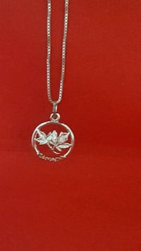 Sterling Silver chain and charm Mentor, 44060