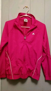 red Adidas zip-up jacket Surrey, V3R 7Z1