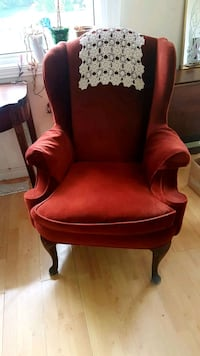 Antique Wing Back Chair Angus, L0M 1B2