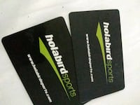 Gift cards 55$ on them Frederick, 21703
