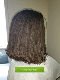 Bob braided wig Available  Fort McMurray, T9H 4K1