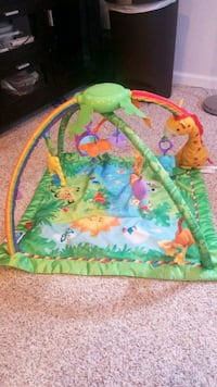 fisher-price rainforest melodies and lights deluxe gym Amelia, 45102