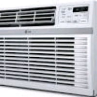 white LG window type air conditioner Vancouver, 98661
