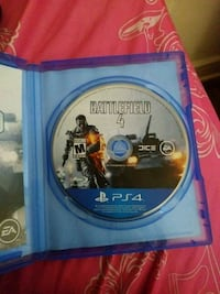 Sony PS4 Battlefield 1 game disc
