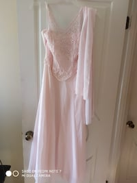 Pink Formal Dress (Size Small) Silver Spring