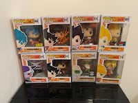 DBZ Funko POP Collection  Fairfax, 22030
