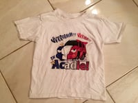 """Size 2 Acadian """"Acadie"""" t shirt. Must Pu in Dieppe.  Dieppe, E1A 6V5"""