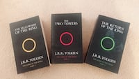 The lord of the rings - 3 books Toronto, M5S 3B8