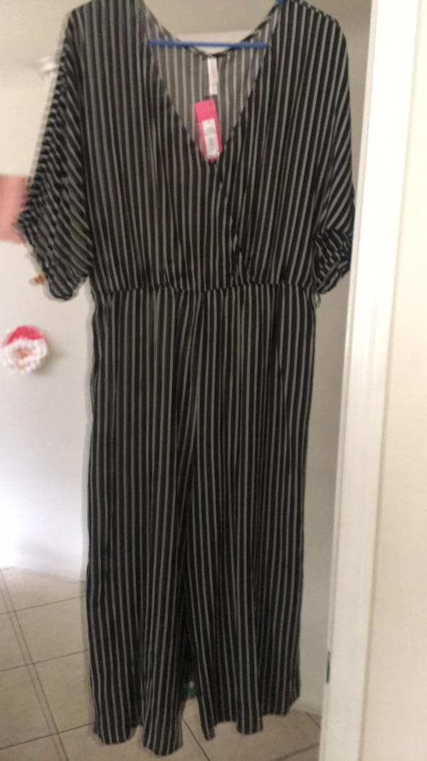 c81b561f9b Used black and white stripe scoop neck dress for sale in Whittier - letgo