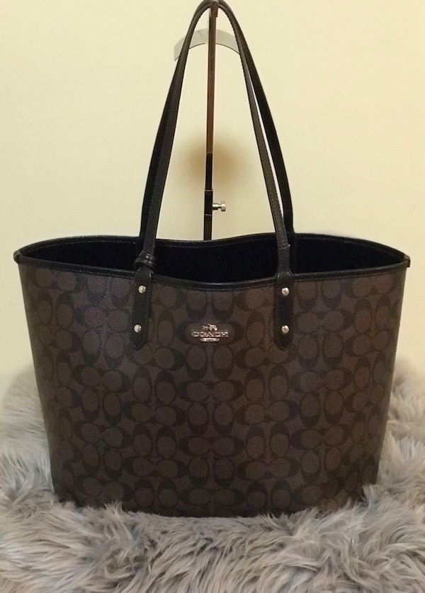 Coach large reversible Tote