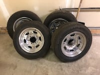 4 chevy michelin snow tires Airdrie, T4B 3B7