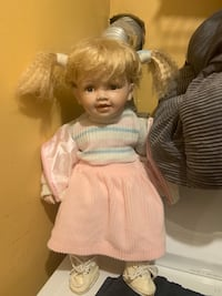 """Cathay collection porcelain doll #  [TL_HIDDEN] """" tall Jessup, 20794"""
