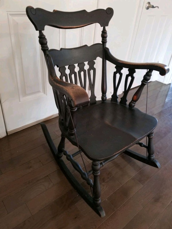 Antique Rustic Rocking Chair