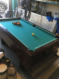 Antique Pool Table $400