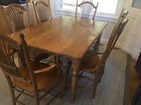 brown wooden table with six chairs Assonet, 02702