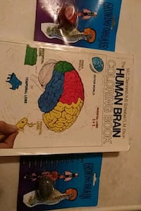 Human brain coloring book and growing organs Wichita, 67208