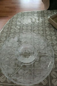 Crystal  Chip and Dip set by Home Beatiful Collect Virginia Beach, 23454