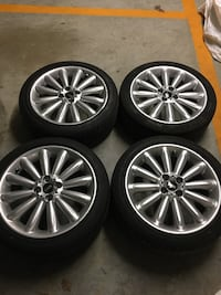 "Genuine MINI Infinite Stream light alloy wheel 17"" with tires North Vancouver, V7H 1S8"