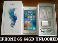 Silver Iphone 6S UNLOCKED 64GB w/ Box & Accessorie Arlington