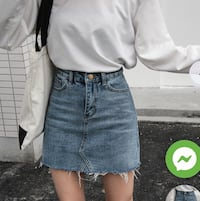 Denim Skirt Toronto, M2M 3Z1