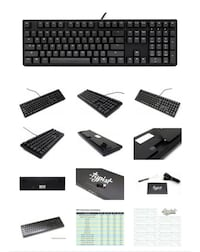 MK Typist Type C USB, Programmable, 16 Layout Mechanical Keyboard Washington, 20001