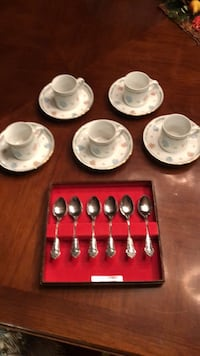 Dishes expresso cappuccino /doll tea set Toms River, 08753