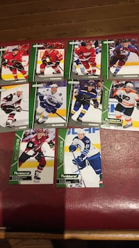 2015-2016 Upperdeck Parkhurst rookies lot of 10 New Tecumseth, L9R