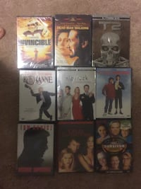 DVD movie lot (New Sealed)