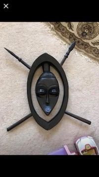 "14""X24"" African Mask Solid Wood And Hand Made Gainesville, 20155"