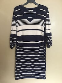 Blue and white stripe long-sleeved dress Oxon Hill, 20745