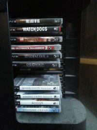 Ps3 games 10$ each Longueuil, J3Y 1H1