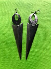 Very low weight silver colored drop dangle earrings Riverwood, 2210
