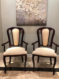 Pair of occasional dining chairs Vaughan, L6A 2V8