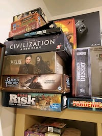 All games for sale, please ask for price and availability