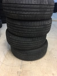 4 all season tires Goodyear 205/55/16 installation and balance to  Brampton, L6R 3M6
