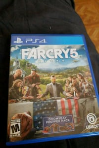 Sony PS4 Farcry 5 case Syracuse, 13208