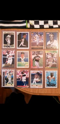 24 Barry Bonds assorted Baseball cards  Latham, 12110