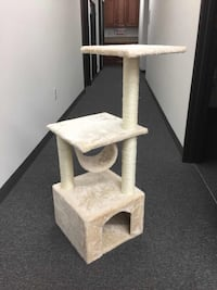 New in box 36 inches tall tall cat tree scratching play post pet furniture beige or black color  Whittier, 90605