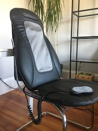 I-Need Brookstone Chair Topper Massage Chair