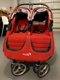 Baby Jogger Citi Mini Double Stroller - Red Hollywood, 33021