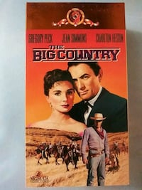 The Big Country vhs