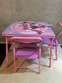 Minnie Mouse Table & Chair Set Bowie
