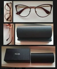 Vintage frame glasses by Prada Oslo