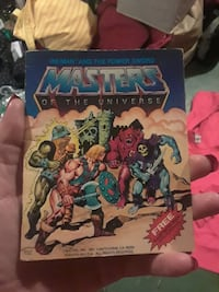 Masters of the universe mini comic